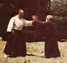 Meister Nocquet mit O Sensei